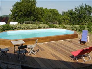 Carport bois brico leclerc for Piscine brico leclerc